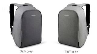KOPACK Waterproof Anti Theft Laptop Backpack USB Charging