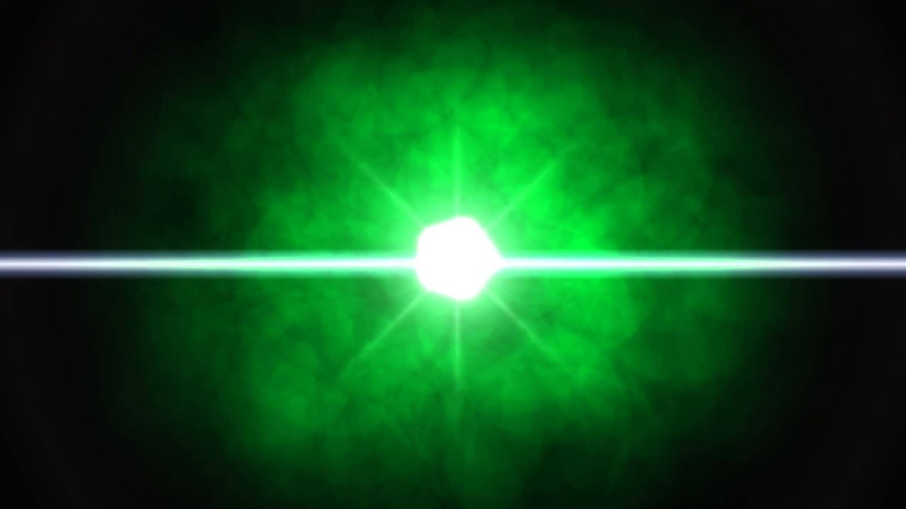 Lens Flare FREE FOOTAGE HD ANIMATION Green Round Black ...