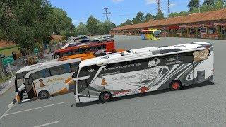 Haryanto Paradise reborn Start PORIS || Ets2 bus mod indonesia
