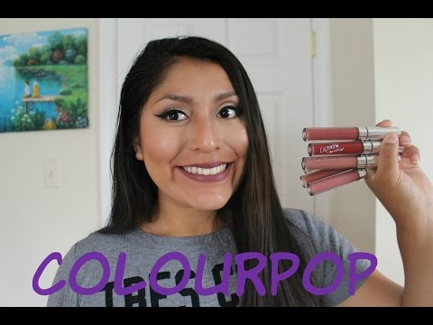 COLOURPOP ULTRA MATTE LIP | OPINION Y MUESTRAS! | Alexandra