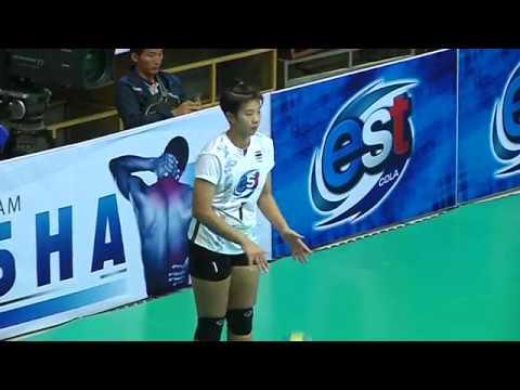 HL  SMM 12th Asian Est Cola Women's U17 Volleyball Championship / THA vs TPE