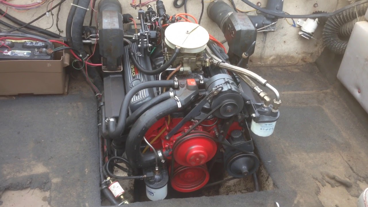 All Chevy 305 chevy engine for sale : 305 5.0L OMC COBRA MARINE ENGINE - YouTube