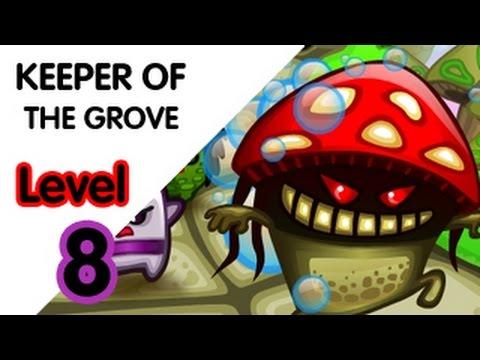 keeper of the grove walkthrough level 8 youtube