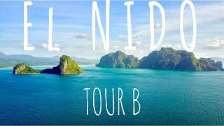beach camping and island hopping in el nido tour b