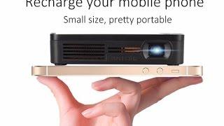 Мини Wi Fi Проектор dlp Ценой 200$ + Бесшумная Оптическая Мышь. Посылки из Китая(, 2016-08-06T14:27:54.000Z)
