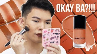 LIP TINT FOR CONTOURING?!!! COLOURETTE COSMETICS CONTOURTINT REVIEW, DEMO AND SWATCHES