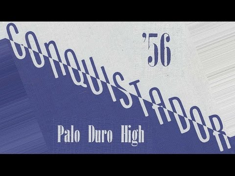 1956 Palo Duro High School yearbook: The Conquistador