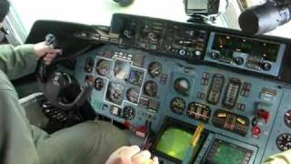 An-124. Посадка в Гостомеле.avi