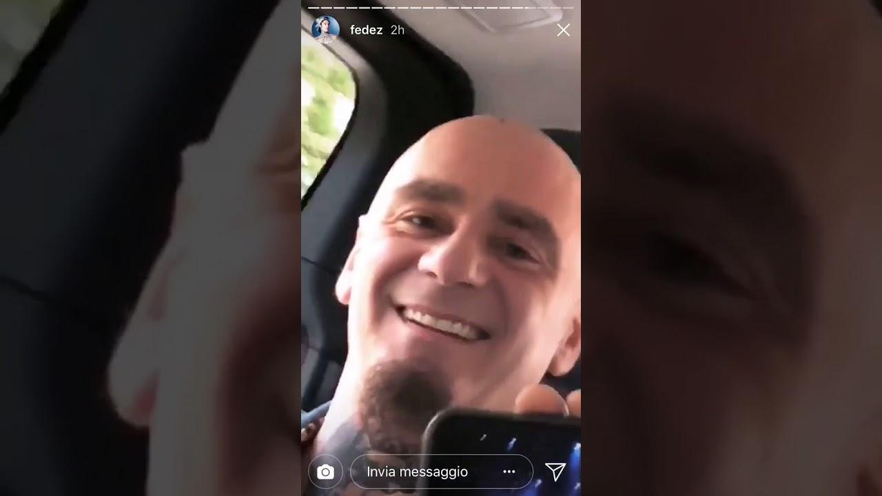 FEDEZ J-AX REACTION PARODIA ITALIANA on instagram stories