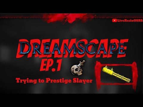 TRYING TO PRESTIGE SLAYER ON DREAMSCAPE *MEGA* Giveaway!! DreamScape RSPS