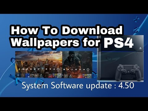 Ps4 How To Download Wallpapers From Internet Browser Custom