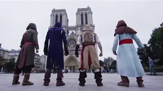 4 assassin's creed + parkur(Alan Walker-Fade)