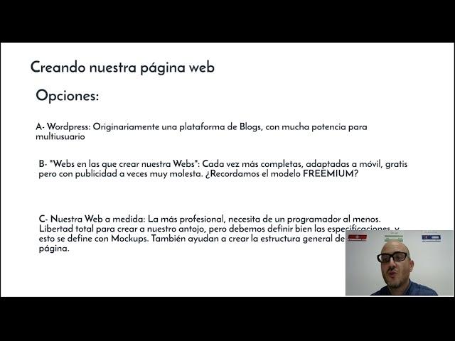 Lección 6: Crear páginas web