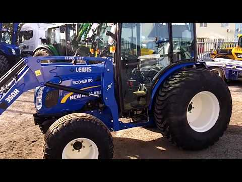 New Holland Boomer 50 c/w Lewis 35QH Loader