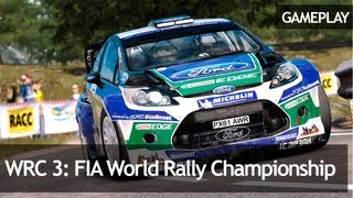 WRC 3 FIA World Rally Championship Demo - Gameplay