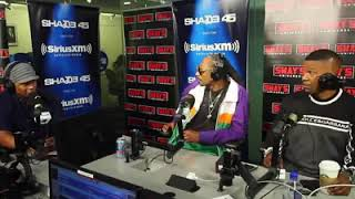 Snoop Dogg and Jamie Fox freestyle