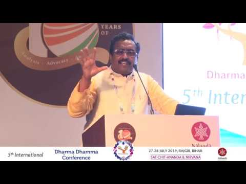 Shri Ram Madhav's Speech At 5th International Dharma Dhamma Conference 2019