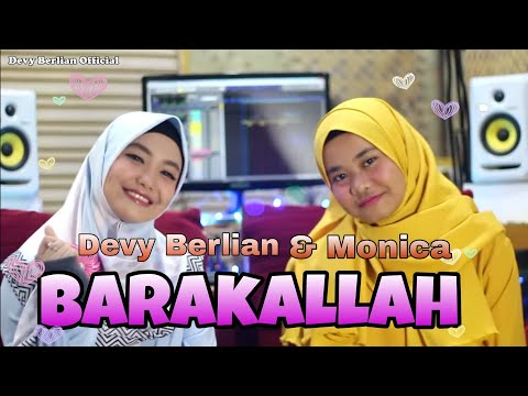 BARAKA ALLAHU LAKUMA COVER BY DEVY BERLIAN & MONICA | link download mp3 di description
