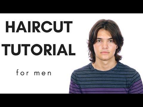 Haircut Tutorial - Longer Haircut For Men - TheSalonGuy