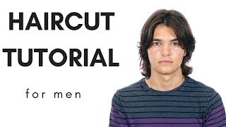 Haircut Tutorial - Longer Haircut for Men - TheSalonGuy