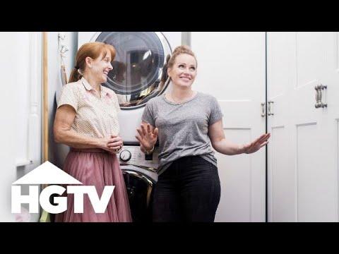 Mina and Karen\'s Little Laundry Room Revamp - HGTV