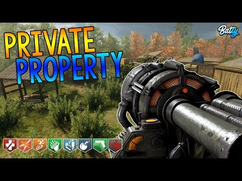 'BEAUTIFUL MAP' PRIVATE PROPERTY CUSTOM BLACK OPS 3 ZOMBIES MAP