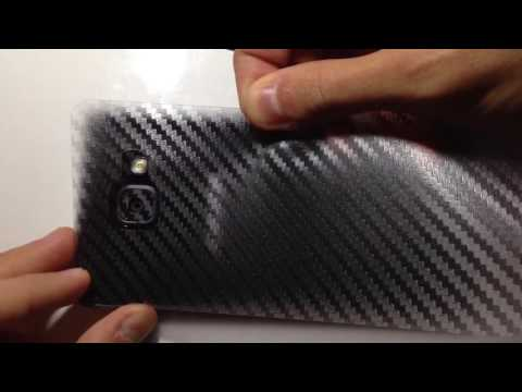 Samsung Galaxy A Series 2016 2017 BACK SCREEN CARBON FIBER PROTECTOR (Fast Forward Video)