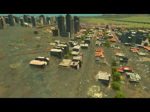 Cities  Skylines Tsunami Honolulu |
