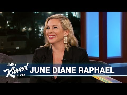 June Diane Raphael on Disney & Women Running for Office ...