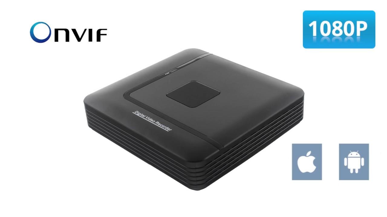 N1004(N1008)1080P NVR Recording