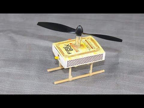 How To Make Helicopter - Matchbox Helicopter Toy