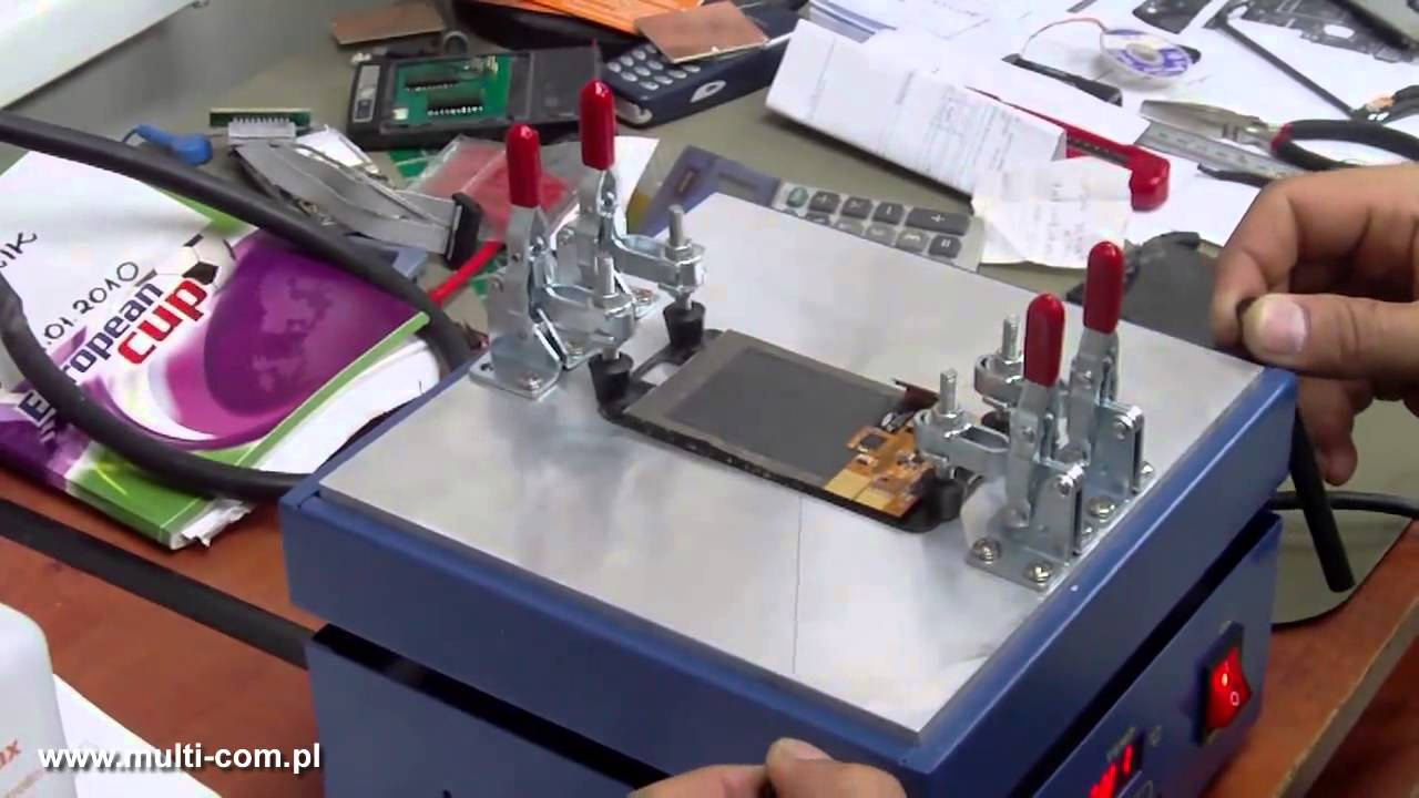 Separate screen using molybdenum cutting wire - YouTube