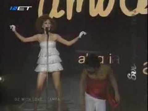 Eurovision 2007 Tamta With love, live - Greek final