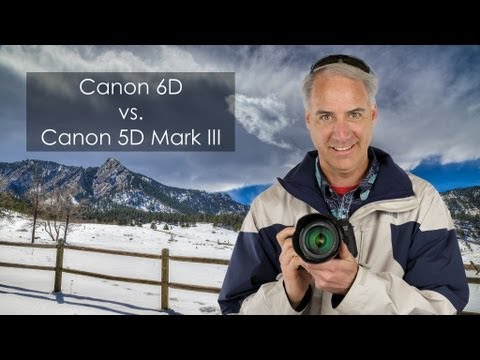 Canon 6D vs Canon 5D Mark III Which One to Buy