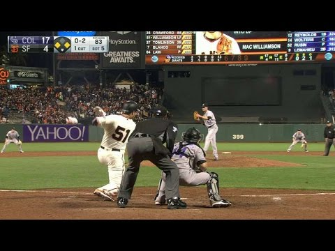 Las Vegas' Guillorme ties the game in the ninth from YouTube · Duration:  24 seconds
