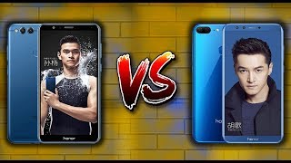 Huawei Honor 9 Lite vs Honor 7x Comparison
