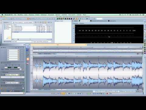 Steinberg Wavelab 8.5 Tutorial funzioni Endcoder Checker e Watch Folder