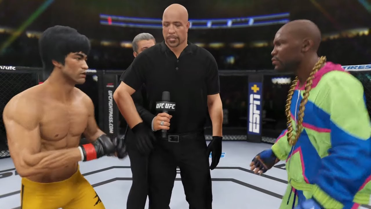 Bruce Lee vs. Floyd Mayweather - EA Sports UFC 4 - Epic Fight 🔥🐲