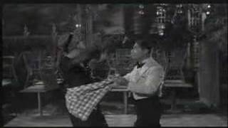 Boogie-ing, as portrayed through cinema. I tend to favor Gene Kelly...