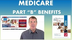 Medicare Part B Benefits - 877-88KEITH (53484)