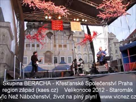 Křesťanský velikonoční rockový koncert Staroměstské náměstí 2012