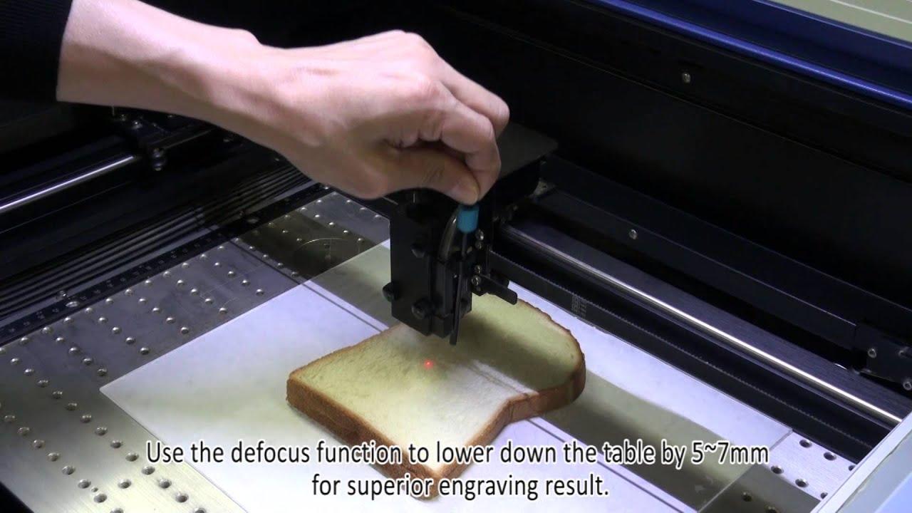 Gcc Laserpro Customized Food Decoration With Laser