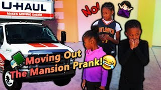 Moving Out The Mansion Prank!