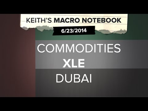 Keith's Macro Notebook 6/23: COMMODITIES XLE DUBAI