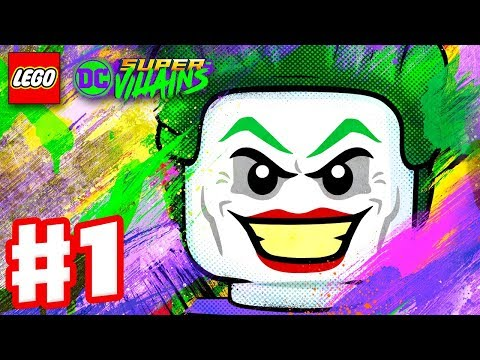 LEGO DC Super Villains  Gameplay Walkthrough Part 1  New Kid on the Block! Character Creator Intro