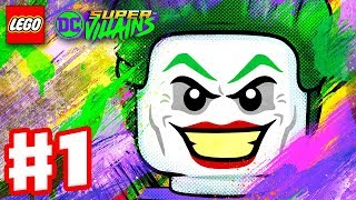LEGO DC Super Villains - Gameplay Walkthrough Part 1 - New Kid on the Block! Character Creator Intro Video