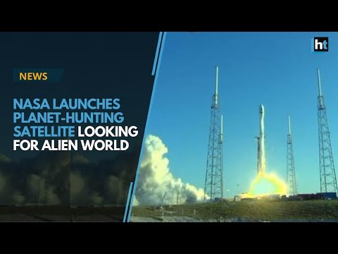NASA launches planet-hunting satellite looking for alien world