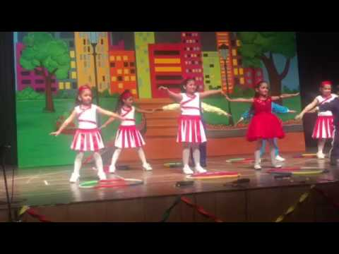 Waka waka dance by nursery kids