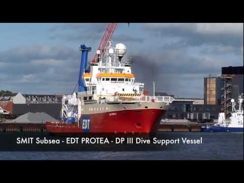Boskalis Offshore (SMIT Subsea) DSV operation - EDT Protea