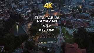 4K Zuta Tabija - Ramazan - Sarajevo - Hor Rejjan - Ramazanska Vecer - Snimci Iz Zraka - Ljepote BiH